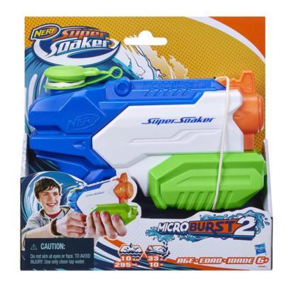 Lançador de Água Nerf Super Soaker Microburst 2 - Hasbro