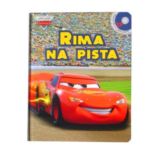 Livro Rima na Pista com CD - Carros Disney - DCL