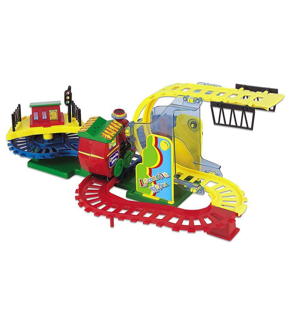 Locomotiva Maluca com Luz e Som - Braskit