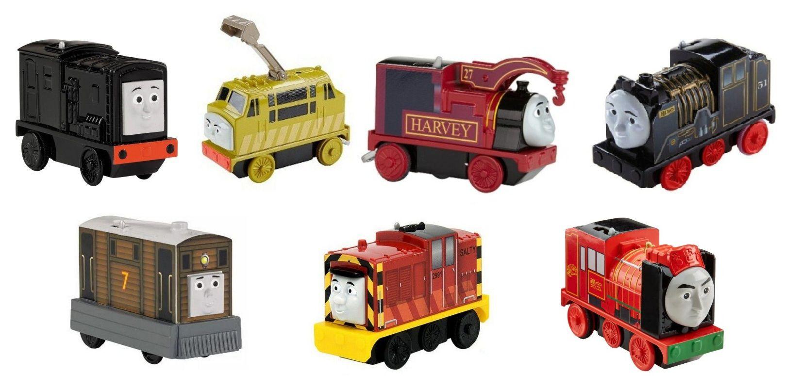 Locomotiva Thomas & Friends Ação Motorizada - Fisher-Price