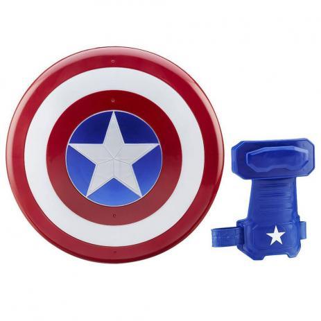 Luva e Escudo Magnéticos Avengers Capitão América Civil War - Hasbro
