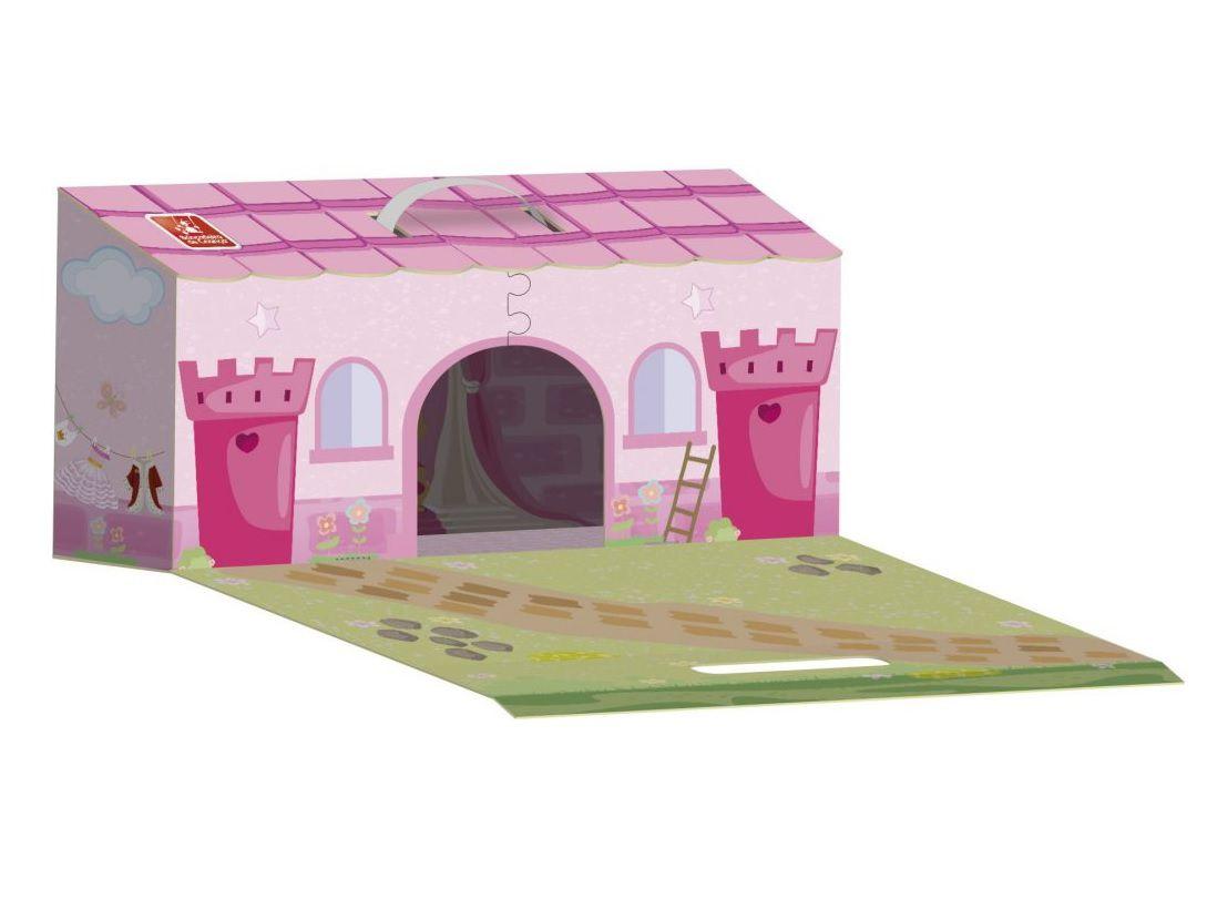Maleta Castelo Princesas em Madeira - Brincadeira de Criança