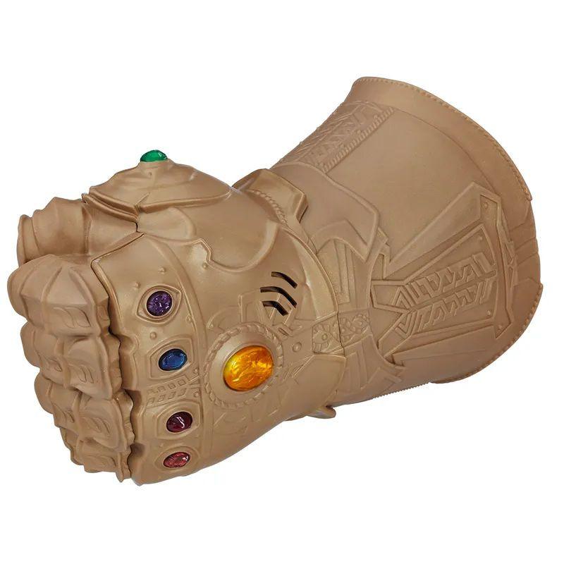 Manopla Eletrônica Marvel Vingadores Guerra Infinita Thanos com Luz e Som - Hasbro