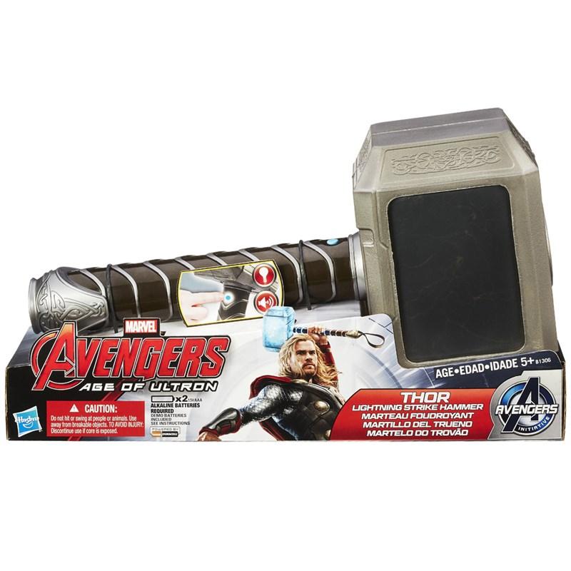 Martelo Thor Trovão Avengers Age of Ultron com Som - Hasbro