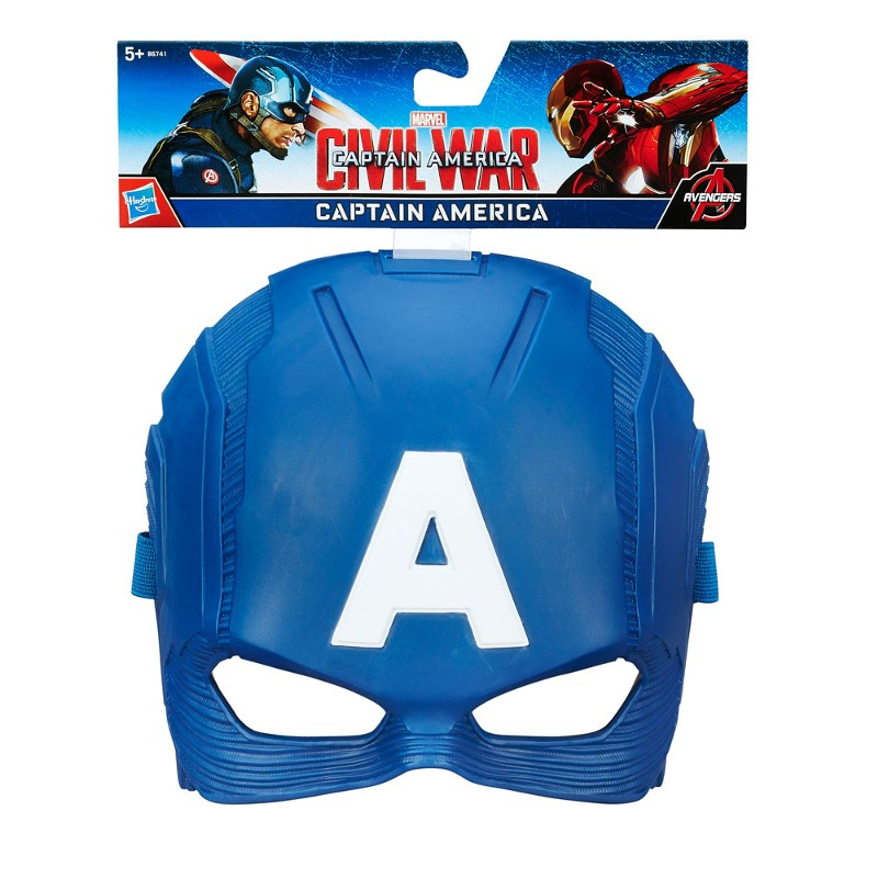 Máscara Captain America Civil War Capitão América Marvel - Hasbro