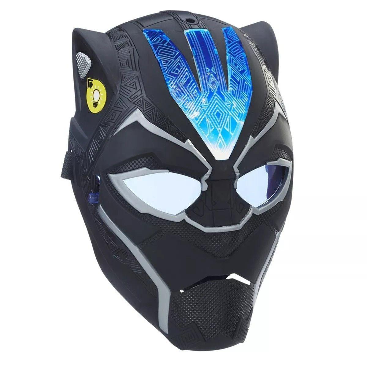 Máscara de Poder Vibranium Marvel Pantera Negra - Hasbro
