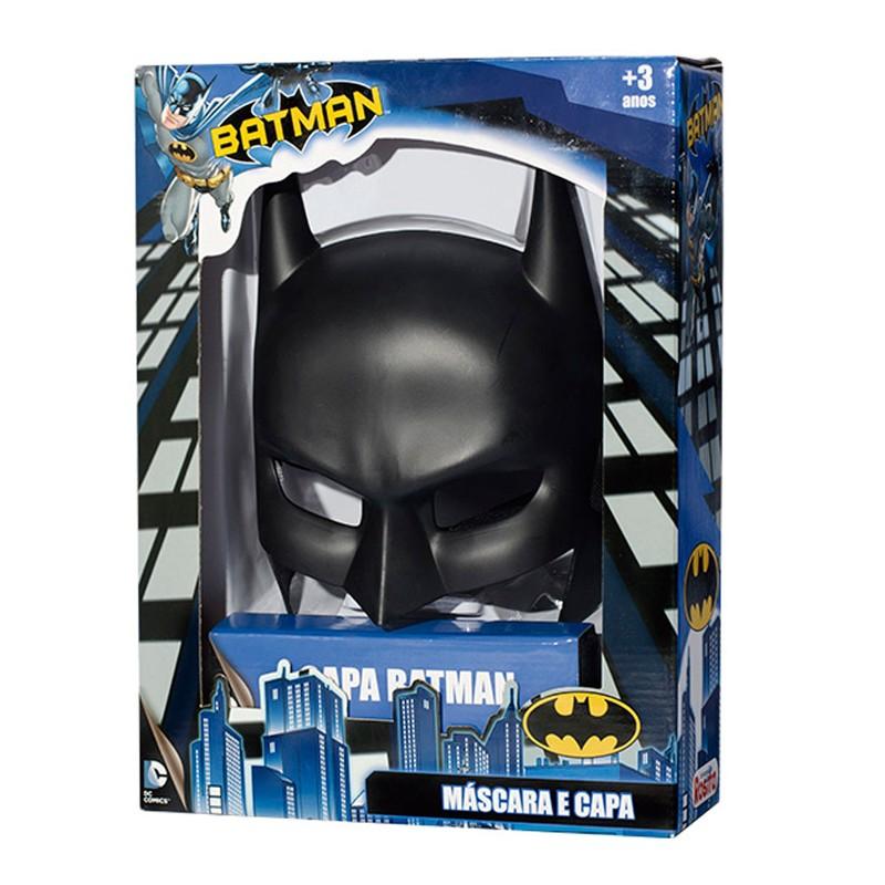 Máscara e Capa Batman - Rosita