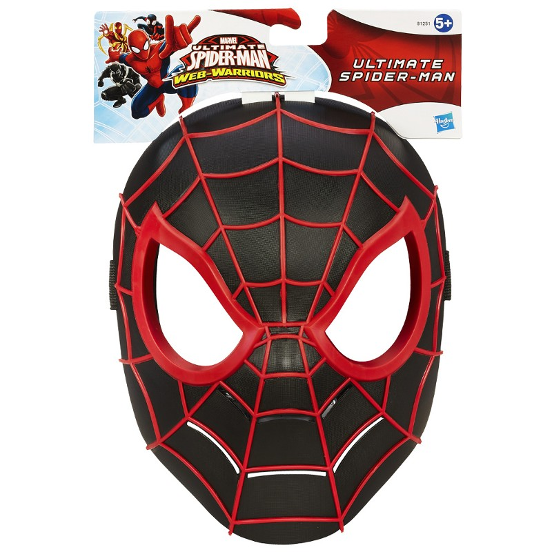 Máscara Ultimate Spider-Man Web-Warriors Spider-Man - Hasbro