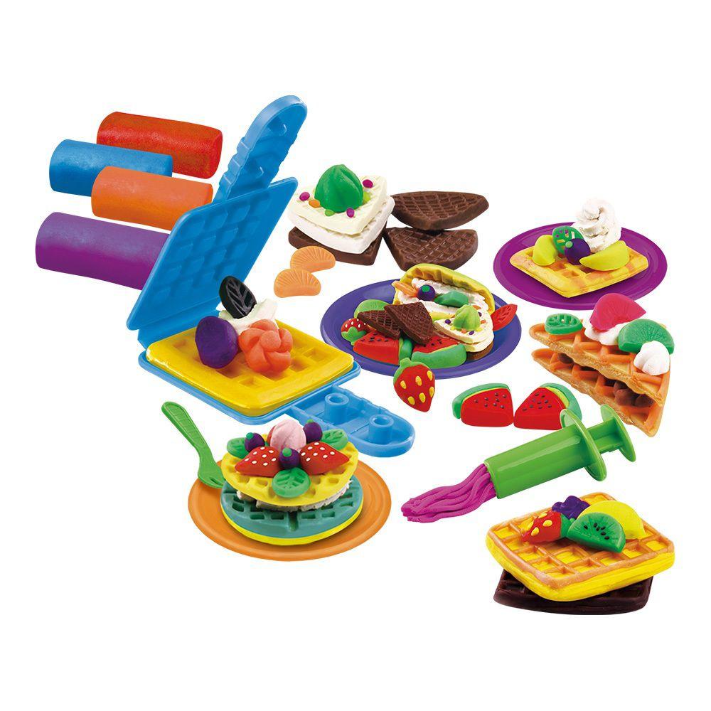 Massinha Modele e Brinque Chef de Cozinha - DM Toys