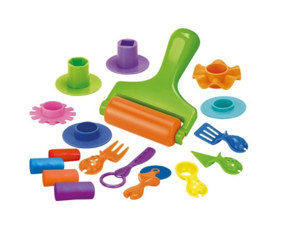Massinha Modele e Brinque Kit Ferramentas - DM Toys