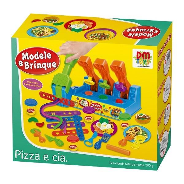 Massinha Modele e Brinque Pizza e Cia - Dm Toys
