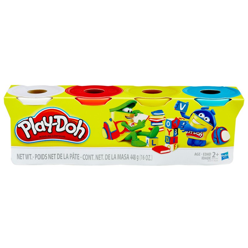 Massinha Play-Doh 4 Potes - Hasbro