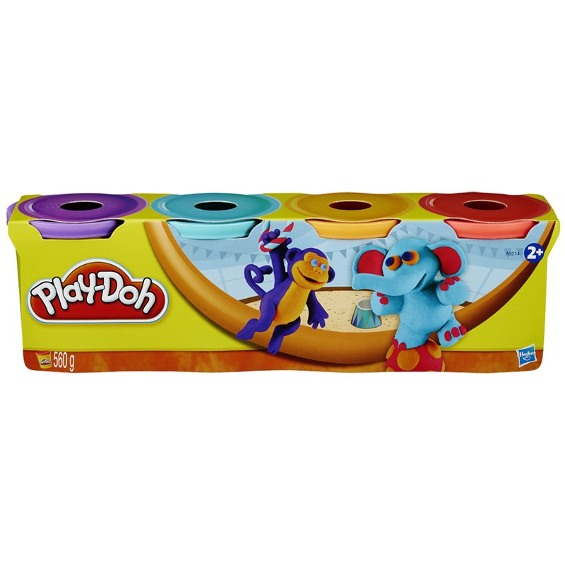 Massinha Play-Doh 4 Potes Picadeiro - Hasbro