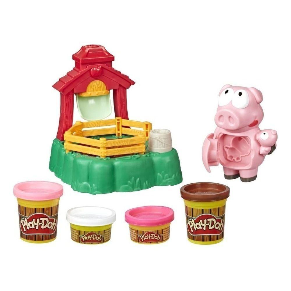 Massinha Play-Doh Animal Crew Porquinhos Brincalhões - Hasbro