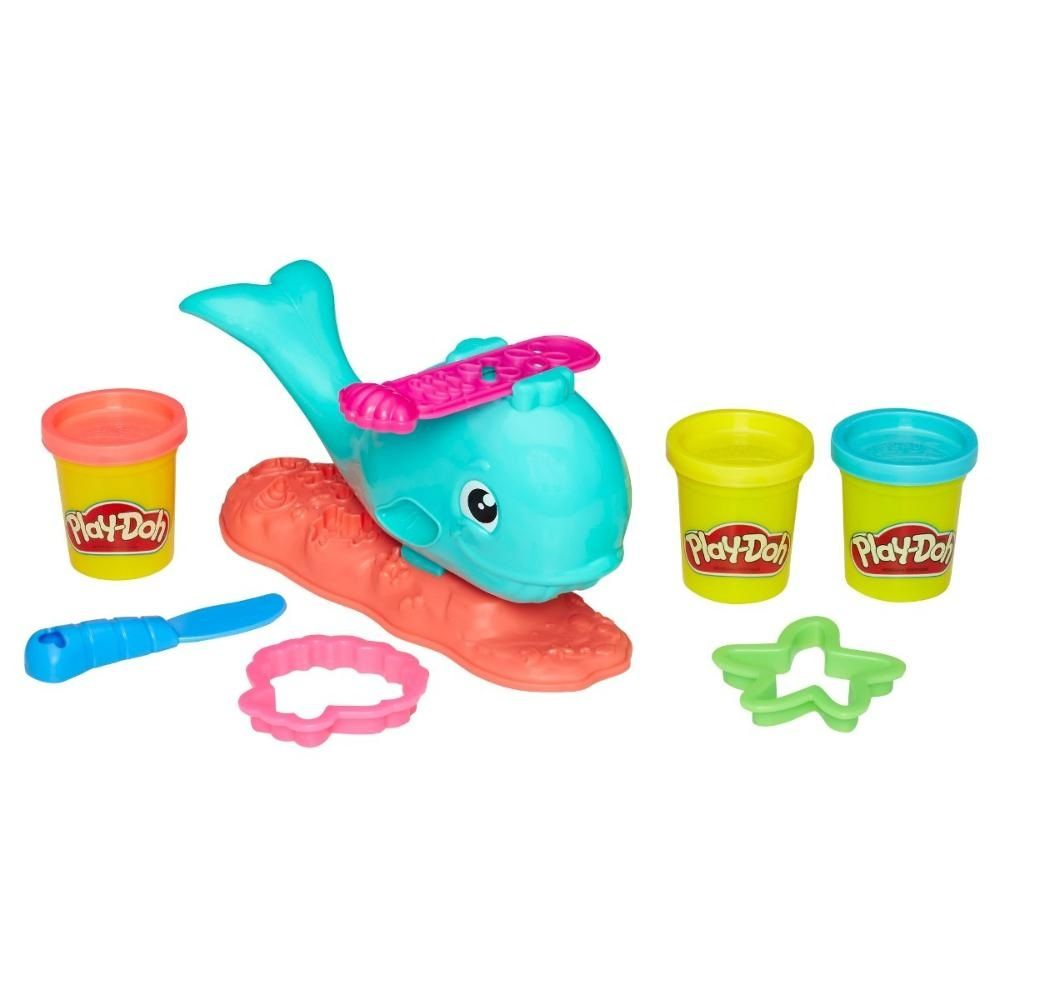 Massinha Play-Doh Baleia Divertida - Hasbro