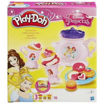 Massinha Play-Doh Conjunto Hora do Chá Princesas Disney - Hasbro