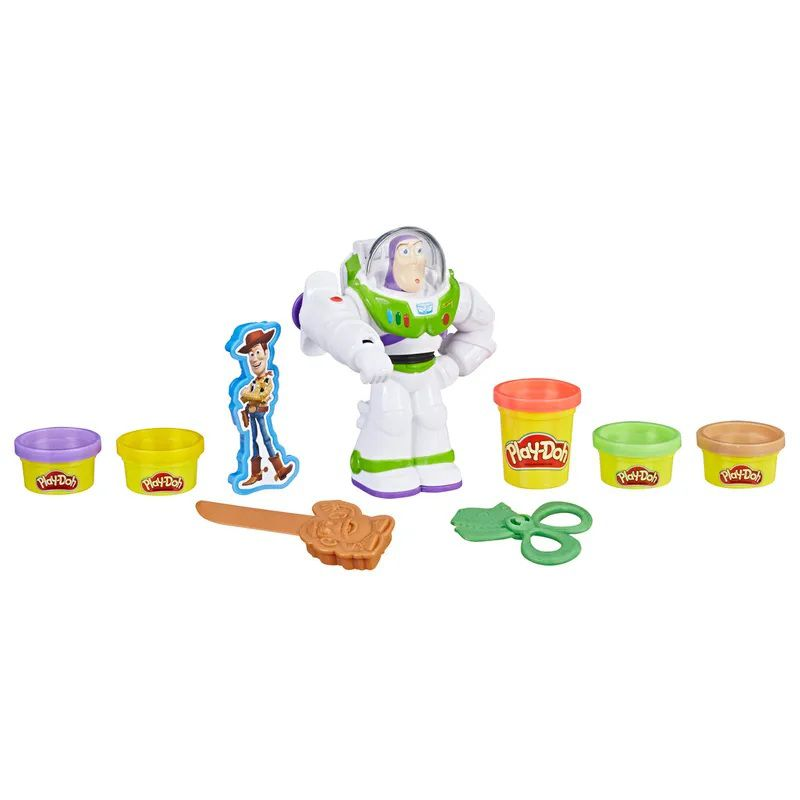Massinha Play-Doh Disney Pixar Toy Story Buzz Lightyear - Hasbro