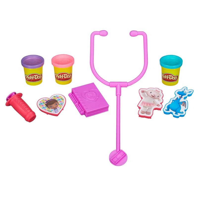 Massinha Play-Doh Doutora Brinquedos Disney - Hasbro