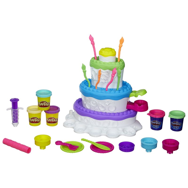Massinha Play-Doh Sweet Shoppe Fábrica de  Bolo 2 em 1 - Hasbro