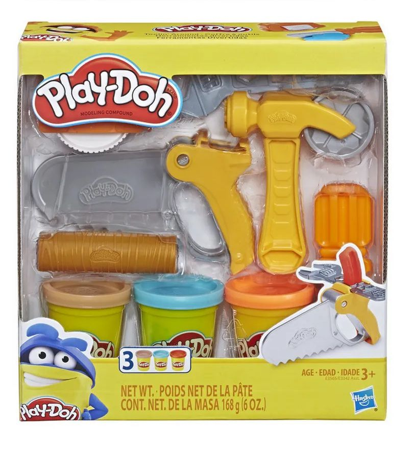 Massinha Play-Doh Ferramentas Divertidas - Hasbro