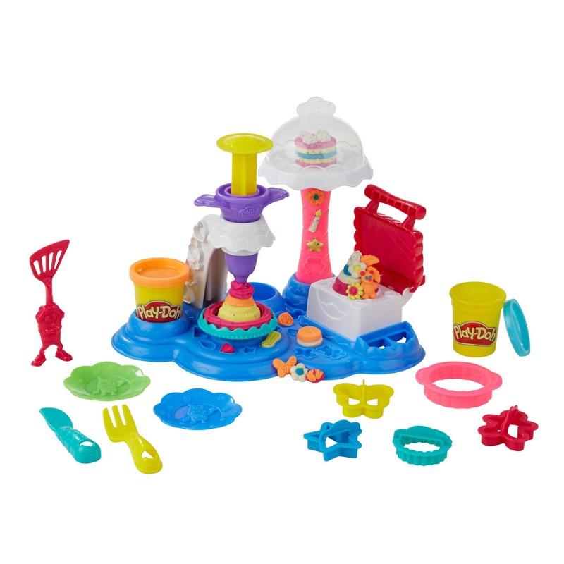 Massinha Play-Doh Festival de Bolos - Hasbro