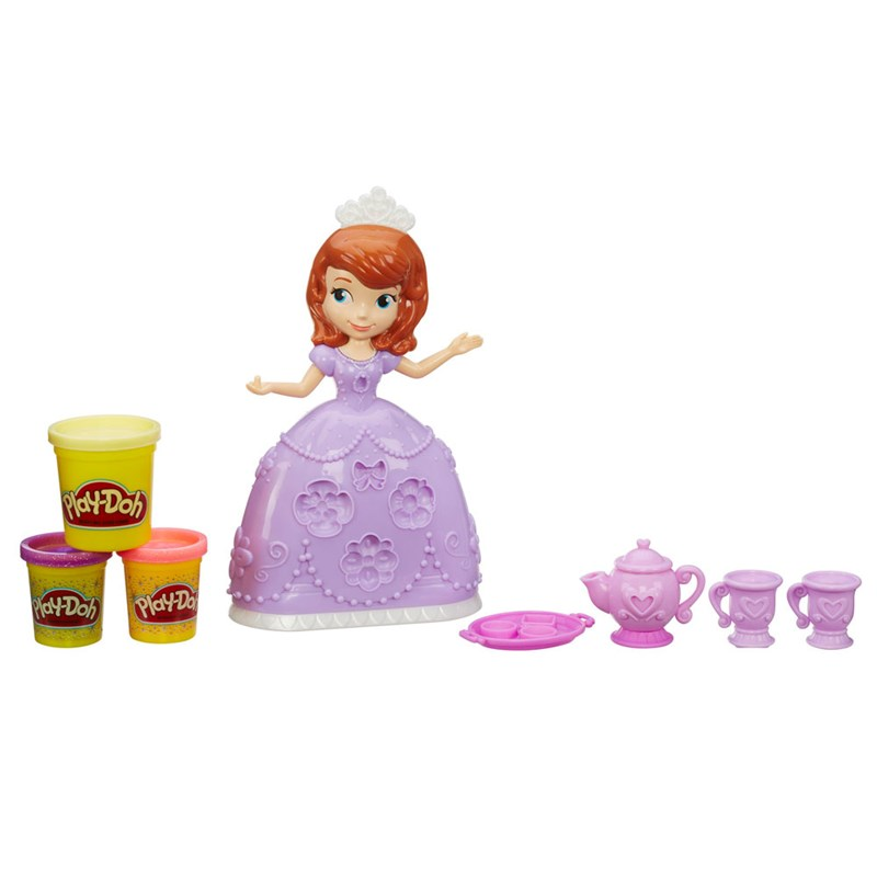 Massinha Play-Doh Hora do Chá Princesinha Sofia Disney - Hasbro