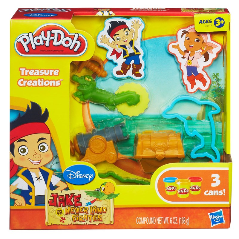 Massinha Play-Doh Jake e os Piratas da Terra do Nunca - Hasbro
