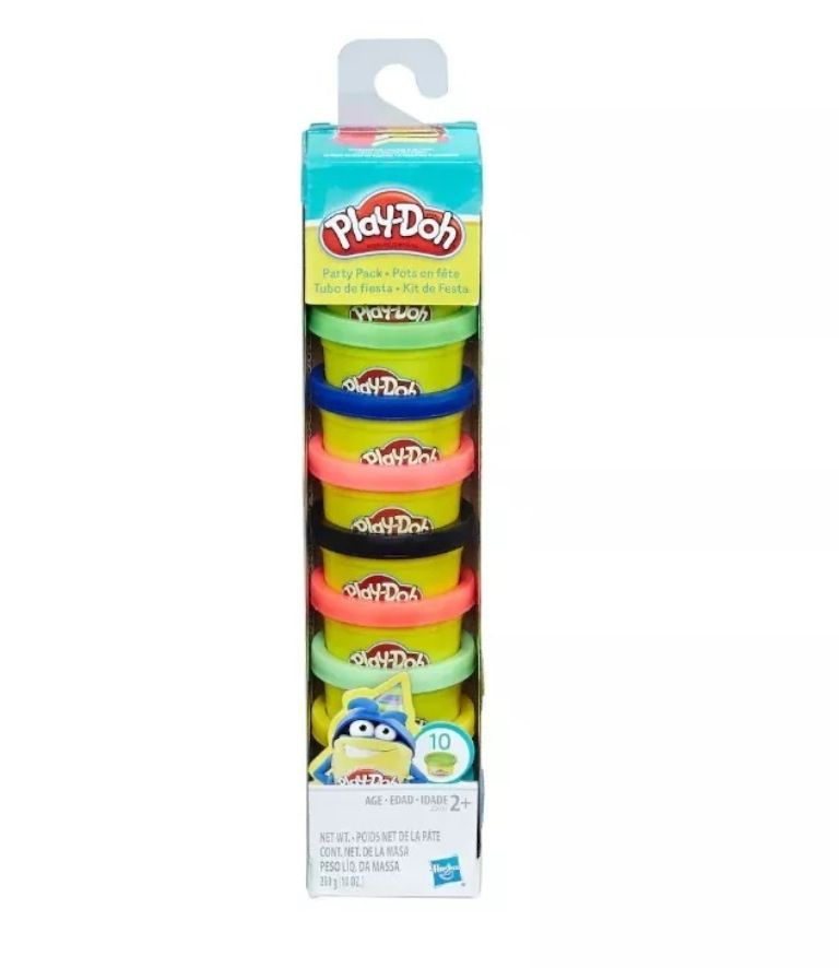 Massinha Play-Doh Kit de Festa 10 Mini Potes - Hasbro