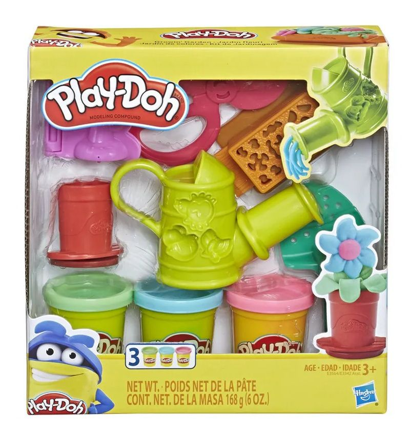 Massinha Play-Doh Kit de Jardinagem - Hasbro