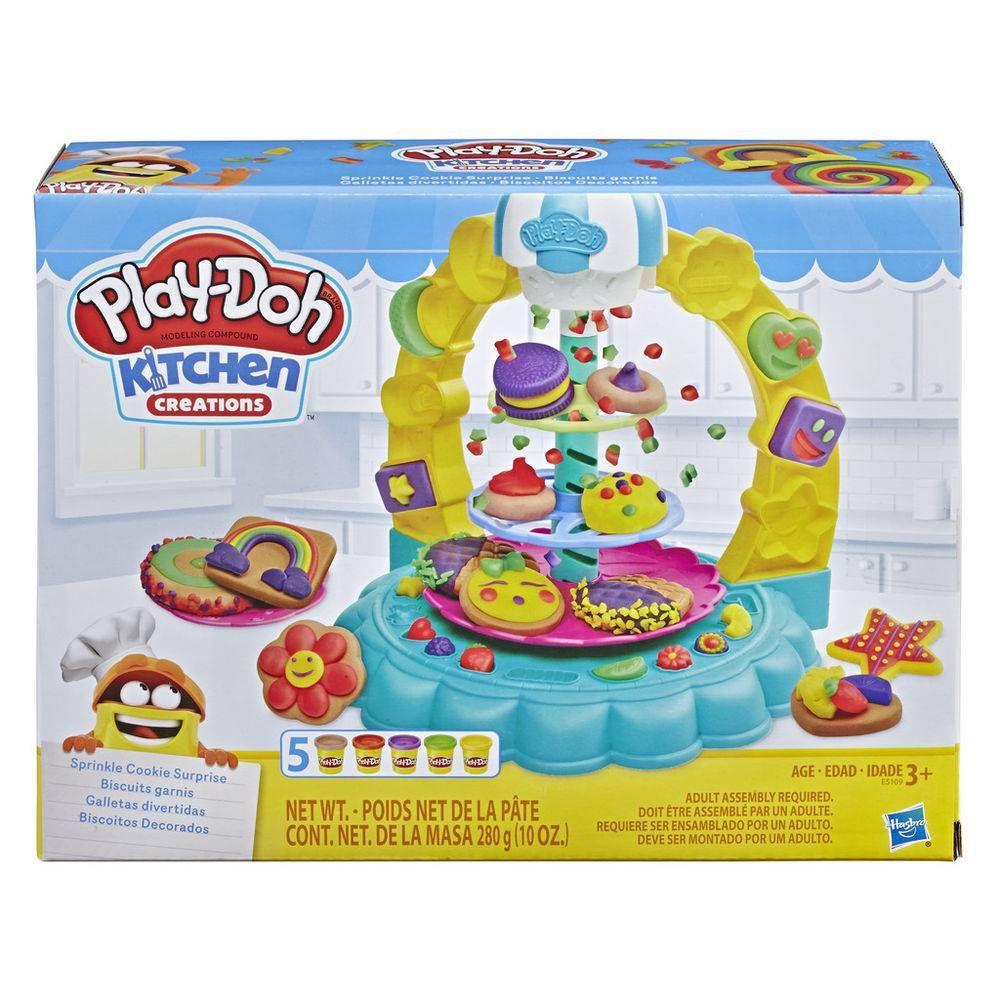 Massinha Play-Doh Kitchen Creations Biscoitos Decorados - Hasbro