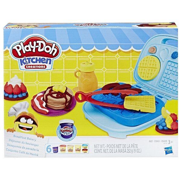 Massinha Play-Doh Kitchen Creations Conjunto Café da Manhã - Hasbro