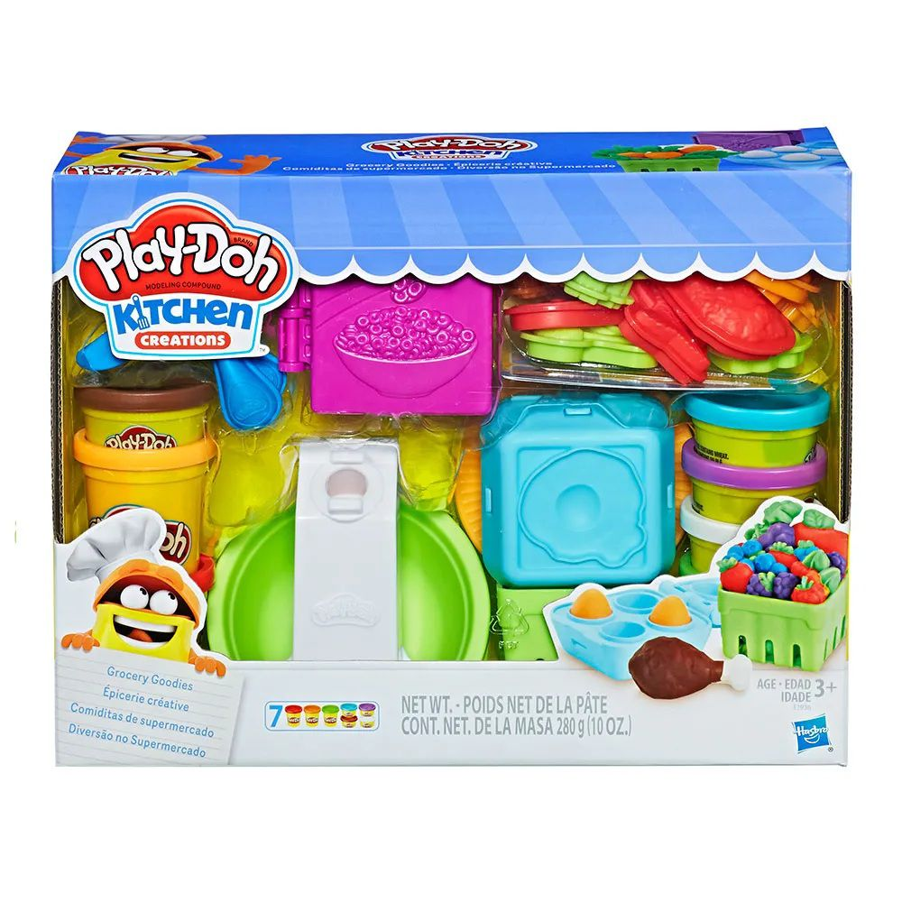 Massinha Play-Doh Kitchen Creations Diversão no Supermercado - Hasbro