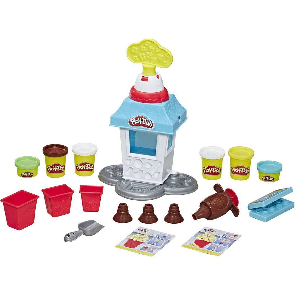 Massinha Play-Doh Kitchen Creations Festa da Pipoca - Hasbro