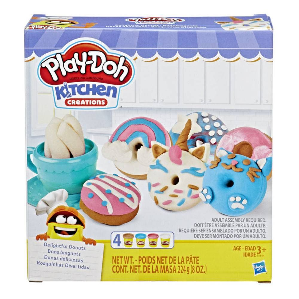Massinha Play-Doh Kitchen Creations Kit Rosquinhas Divertidas - Hasbro