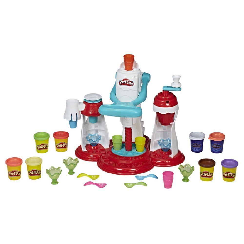 Massinha Play-Doh Kitchen Creations Super Máquina de Sorvetes - Hasbro