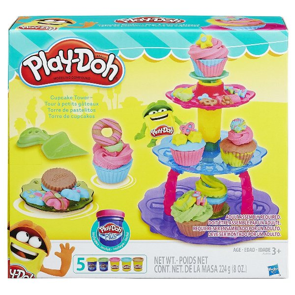 Massinha Play-Doh Kitchen Creations Torre de Cupcakes - Hasbro