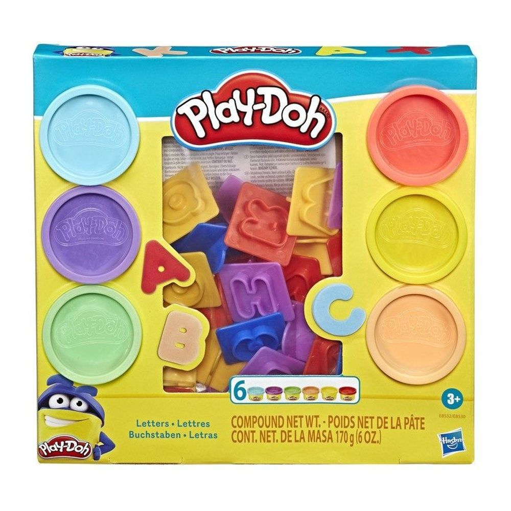 Massinha Play-Doh Letras - Hasbro