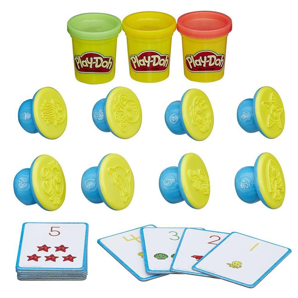 Massinha Play-Doh Moldar e Aprender Números e Sequências - Hasbro