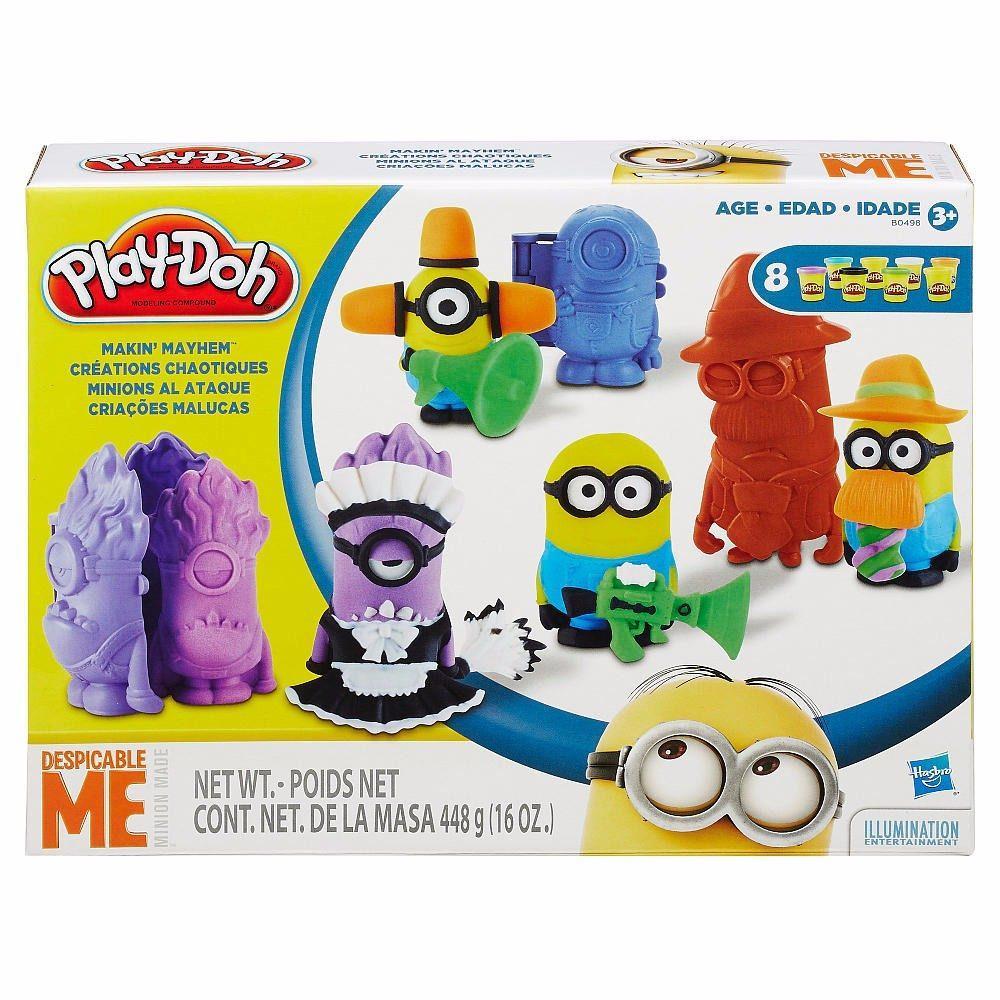 Massinha Play-Doh Monte Seu Minions Criações Malucas - Hasbro