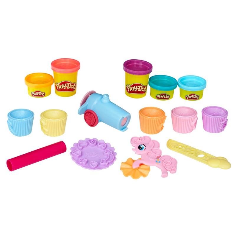 Massinha Play-Doh My Little Pony Festa de Cupcakes - Hasbro