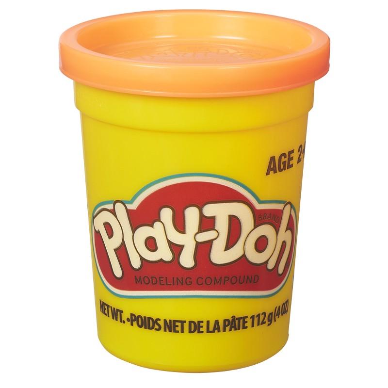 Massinha Play-Doh Pote Individual Laranja - Hasbro