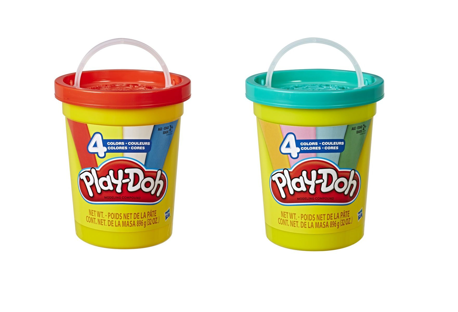Massinha Play-Doh Super Pote com 4 Cores - Hasbro