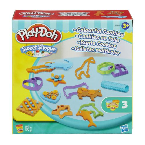 Massinha Play-Doh Sweet Shoppe Colourful Cookies - Hasbro