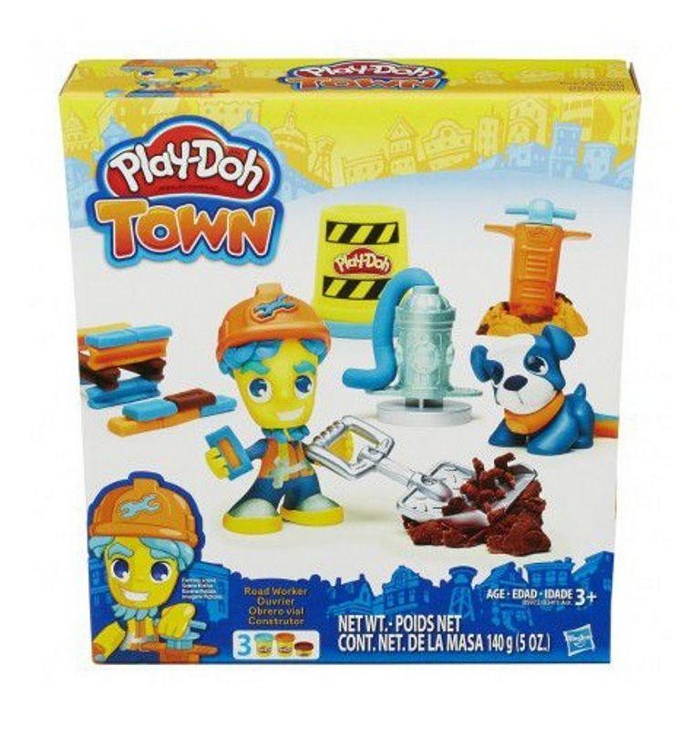 Massinha Play-Doh Town Construtor - Hasbro