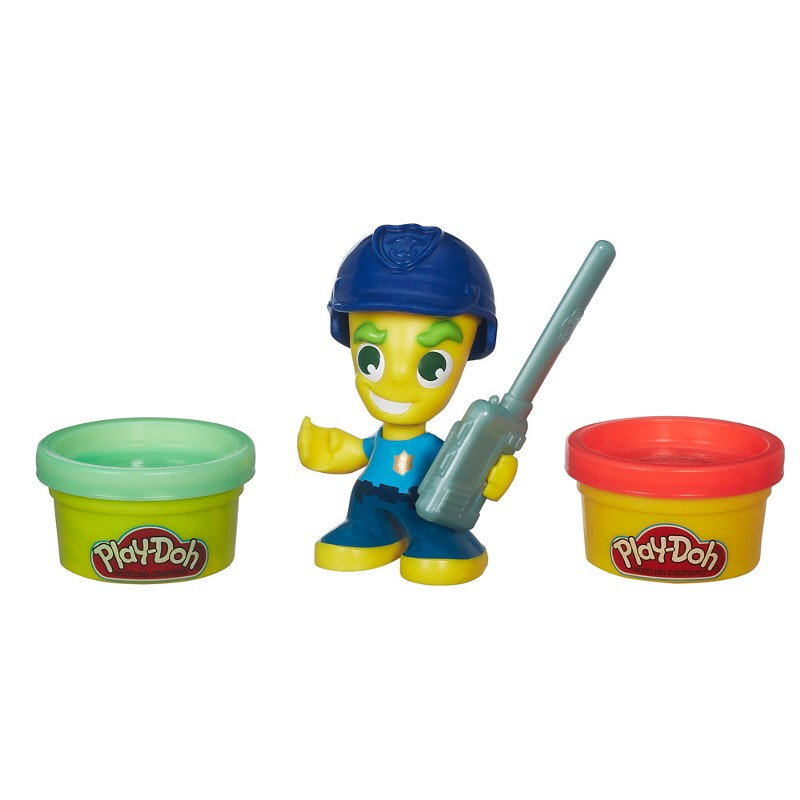 Massinha Play-Doh Town Pequeno Policial - Hasbro