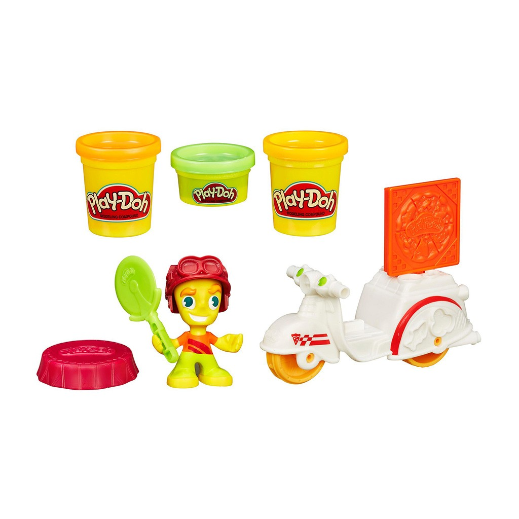 Massinha Play-Doh Town Pizza a Domicílio - Hasbro