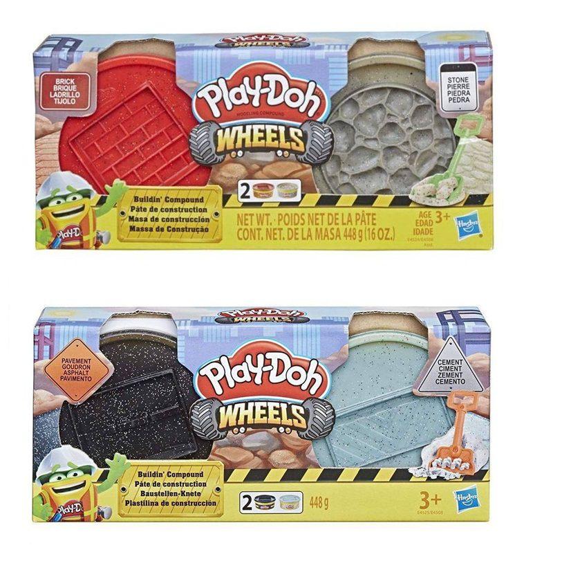 Massinha Play-Doh Wheels Massa de Construção - Hasbro