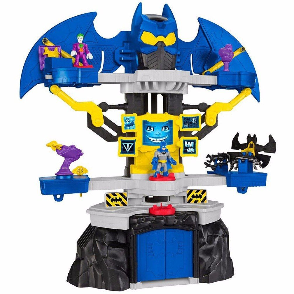 Mega Batcaverna Imaginext DC Super Friends - Fisher-Price