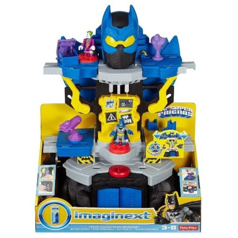 Mega Batcaverna Imaginext DC Super Friends - Fisher-Price