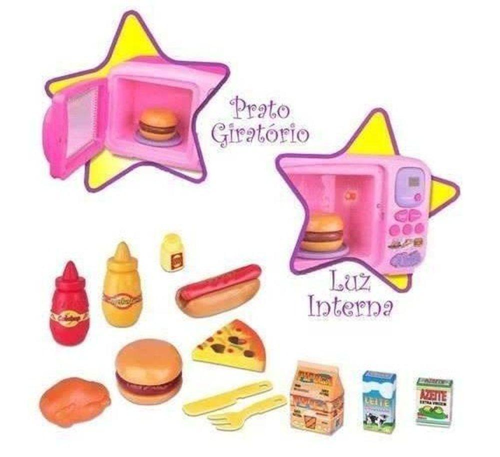 Microondas da Princesa - Braskit